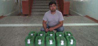 Пешгирии муомилоти ғайриқонунии 120 кг ангидриди кислотаи атсетат
