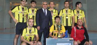 Ҷамъбасти мусобиқаи «футболи хурд» бахшида ба «Рӯзи милитсия»