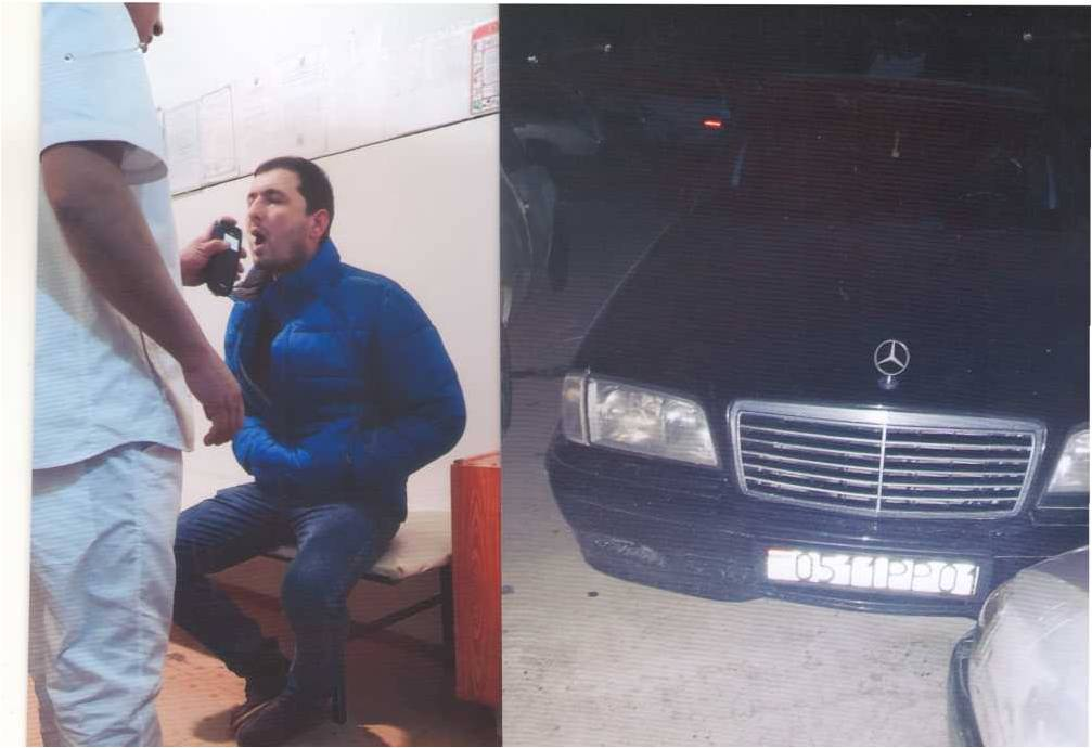 6 ҳолати идоракунии воситаи нақлиёт дар ҳолати мастӣ дар ҳудуди шаҳри Душанбе дар ҳафтаи сипаришуда