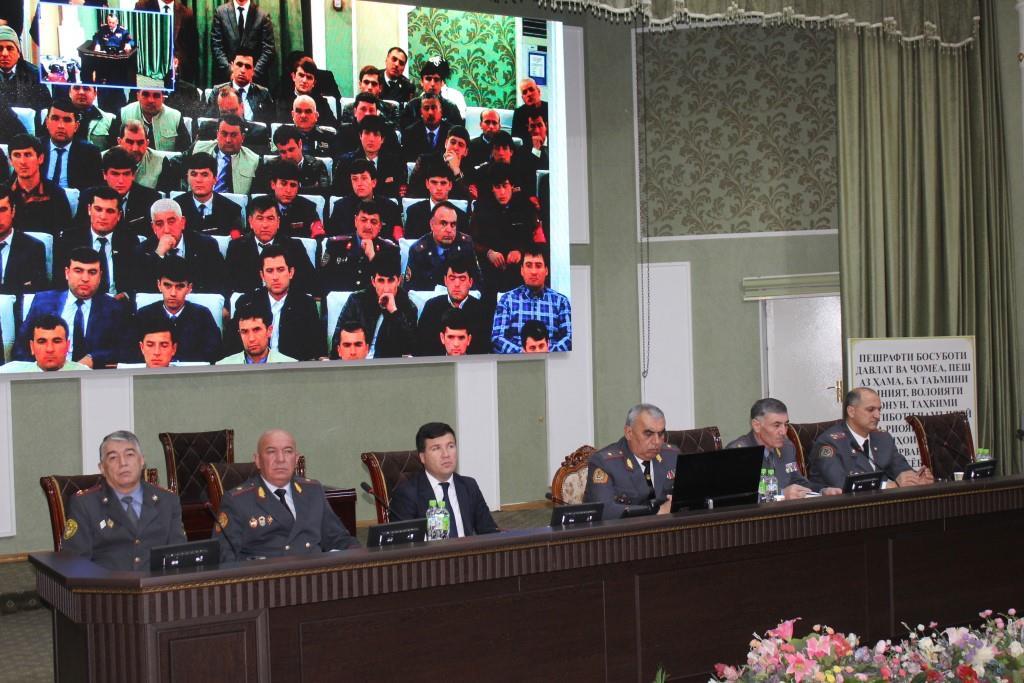 Баргузории конференсияи дружинаҳои ихтиёрӣ дар ВКД