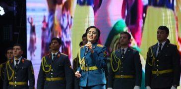 Барномаи консертӣ ба муносибати «Рӯзи милитсия» дар шаҳри Душанбе (Видео)