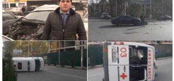 Милитсияи пойтахт сабабҳои ба садама дучор шудани автомашинаи Ёрии таъҷилиро муайян намуд