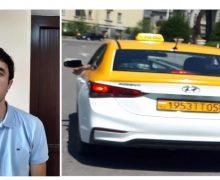 Ҳаракатҳои таҳқиромез ва майдаавбошонаи ронандаи ширкати «Olu4a Taxi» нисбати як ҷавондухтари велосипедрон